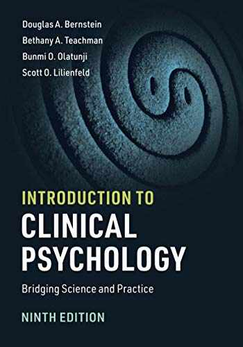 9781108735797-1108735797-Introduction to Clinical Psychology