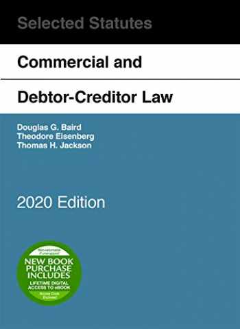 9781684679744-1684679745-Commercial and Debtor-Creditor Law Selected Statutes, 2020 Edition