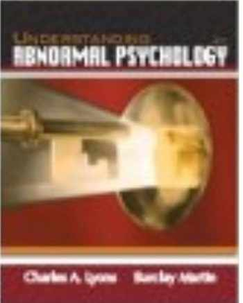 9781618825353-1618825356-Understanding Abnormal Psychology, by Lee Skeens, Charles Lyons, & Barclay Martin, 2nd Edition, Loose-Leaf (Only Text)