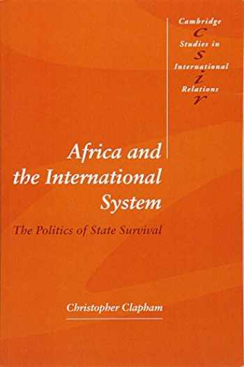 9780521576680-0521576687-Africa and the International System (Cambridge Studies in International Relations)