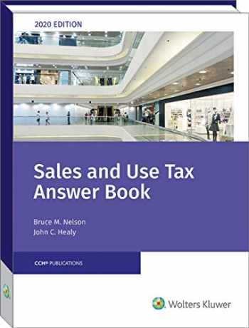 9780808052890-0808052896-Sales and Use Tax Answer Book (2020)
