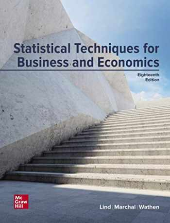 9781260788730-1260788733-Loose Leaf for Statistical Techniques in Business and Economics
