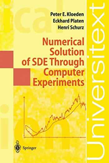 9783540570745-3540570748-Numerical Solution of SDE Through Computer Experiments (Universitext)