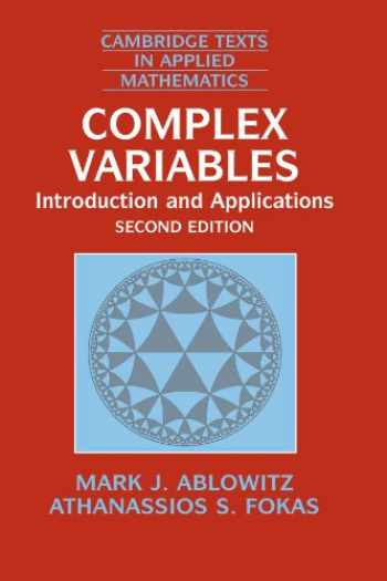 9780521534291-0521534291-Complex Variables (Introduction and Applications)