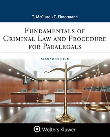 9781543810790-1543810799-Fundamentals of Criminal Practice: Law and Procedure (Aspen Paralegal Series)