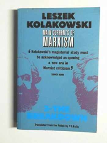 9780192851093-0192851098-Main Currents of Marxism: Its Rise, Growth and Dissolution Volume 3: The Breakdown (Oxford Paperbacks)