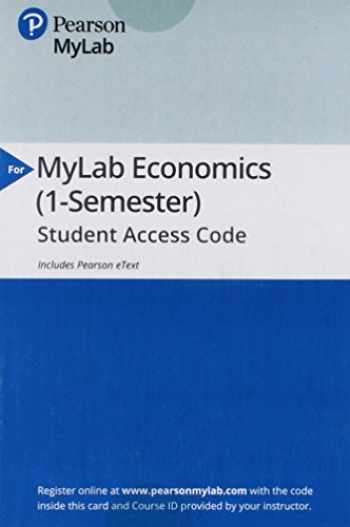 9780134739441-0134739442-MyLab Economics with Pearson eText -- Access Card -- for Macroeconomics