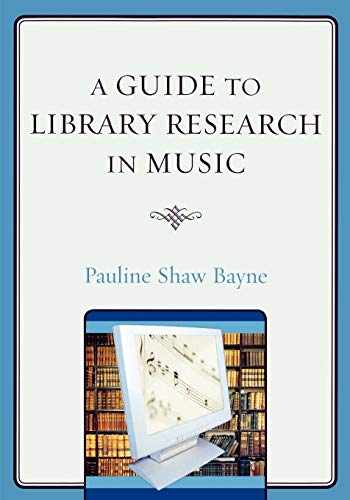 9780810862111-0810862115-A Guide to Library Research in Music