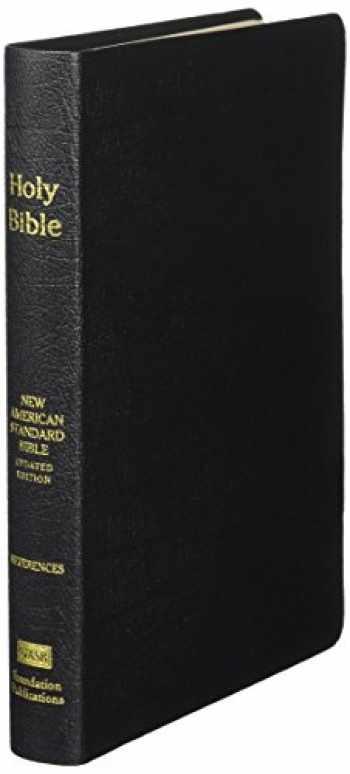 9781581351316-1581351313-NASB Large Print Ultrathin Reference Bible (Black, Genuine Leather)