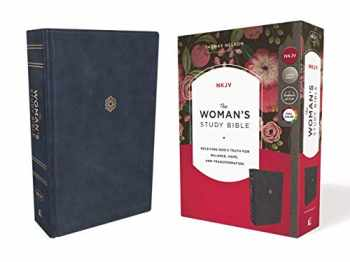 9780785226512-0785226516-The NKJV, Woman's Study Bible, Leathersoft, Blue, Red Letter, Full-Color Edition, Thumb Indexed: Receiving God's Truth for Balance, Hope, and Transformation