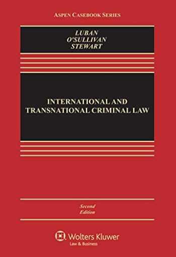 9781454828341-145482834X-International and Transnational Criminal Law (Aspen Casebook)