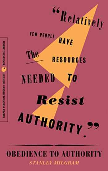9780062930828-0062930826-Obedience to Authority: An Experimental View (The Resistance Library)