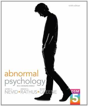 9780205961719-0205961711-Abnormal Psychology in a Changing World (9th Edition)