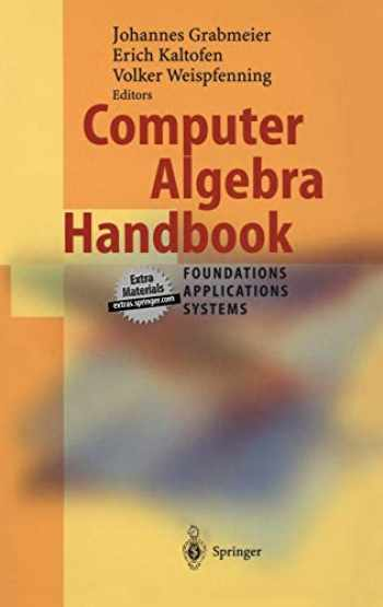 9783540654667-3540654666-Computer Algebra Handbook
