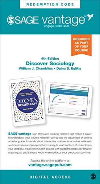 9781544392912-1544392915-Discover Sociology - Vantage Shipped Access Card