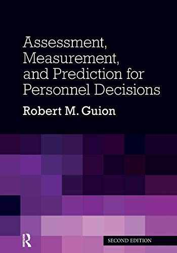 9780367864361-0367864363-Assessment, Measurement, and Prediction for Personnel Decisions