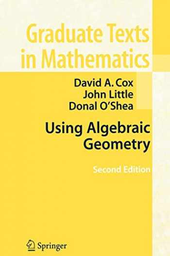 9780387207339-0387207333-Using Algebraic Geometry (Graduate Texts in Mathematics (185))