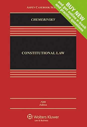 9781454876472-1454876476-Constitutional Law [Connected Casebook] (Aspen Casebook)