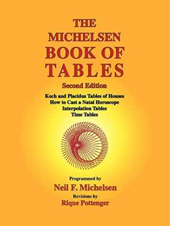 9781934976128-1934976121-The Michelsen Book of Tables