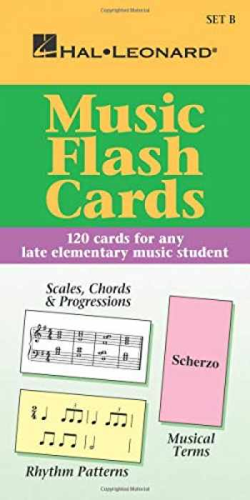 9780793577767-0793577764-Music Flash Cards - Set B: Hal Leonard Student Piano Library
