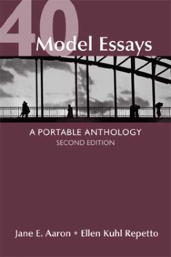 9781457610240-1457610248-40 Model Essays: A Portable Anthology