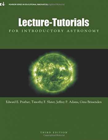 9780321820464-0321820460-Lecture-Tutorials for Introductory Astronomy, 3rd Edition