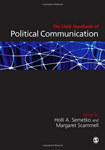 9781847874399-1847874398-The SAGE Handbook of Political Communication