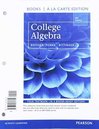 9780135614594-0135614597-College Algebra, Loose-Leaf Edition Plus MyLab Revision with Corequisite Support -- 24-Month Access Card Package