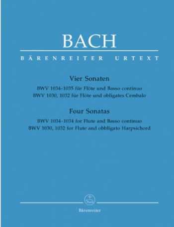 9780006447993-0006447996-Bach: Four Flute Sonatas, BWV 1030, 1032, 1034, 1035