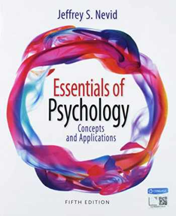 9781337582209-1337582204-Bundle: Essentials of Psychology: Concepts and Applications, 5th + MindTap Psychology, 1 term (6 months) Printed Access Card
