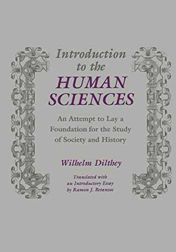 9780814318980-0814318983-Introduction to the Human Sciences: An Attempt to Lay a Foundation for the Study of Society and History