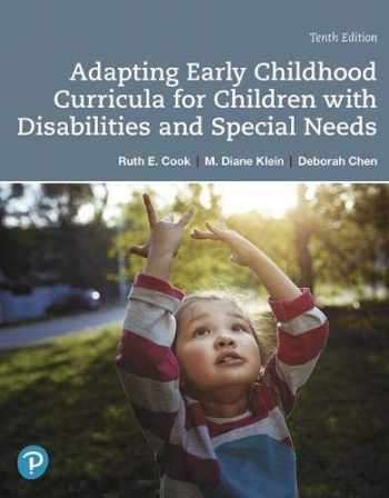 9780135204450-0135204453-Adapting Early Childhood Curricula for Children with Disabilities and Special Needs (10th Edition)