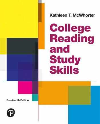 9780134996295-0134996291-College Reading and Study Skills