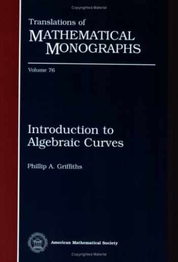 9780821845370-0821845373-Introduction to Algebraic Curves (Translations of Mathematical Monographs)