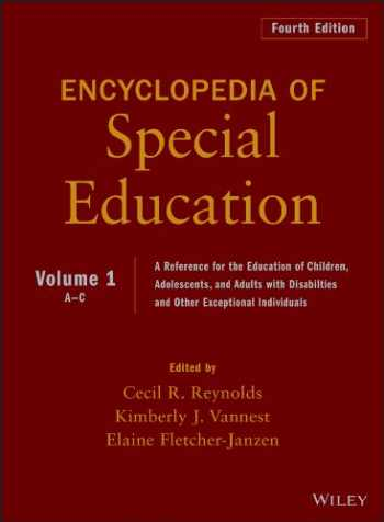 9780470949382-0470949384-Encyclopedia of Special Education, Volume 1: A Reference for the Education of Children, Adolescents, and Adults Disabilities and Other Exceptional Individuals