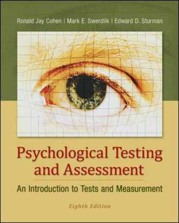 9780078035302-0078035309-Psychological Testing and Assessment: An Introduction to Tests and Measurement