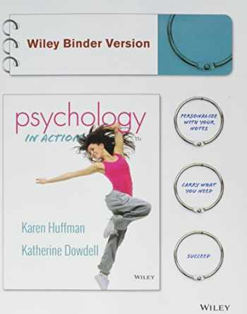 9781119000594-1119000599-Psychology in Action, Binder Ready Version