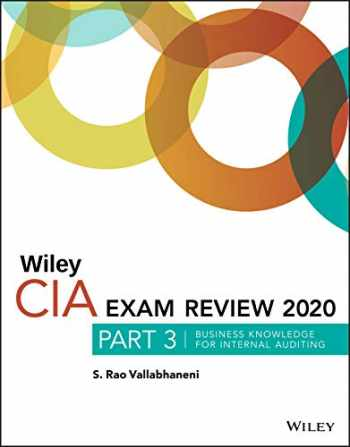 9781119667179-1119667178-Wiley CIA Exam Review 2020, Part 3: Business Knowledge for Internal Auditing
