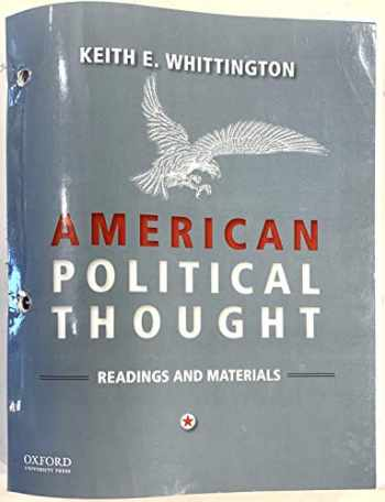 9780190095536-0190095539-American Political Thought