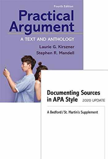9781319353162-1319353169-Loose-Leaf Version for Practical Argument 4e & Documenting Sources in APA Style: 2020 Update