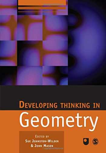9781412911696-1412911699-Developing Thinking in Geometry (Published in association with The Open University)