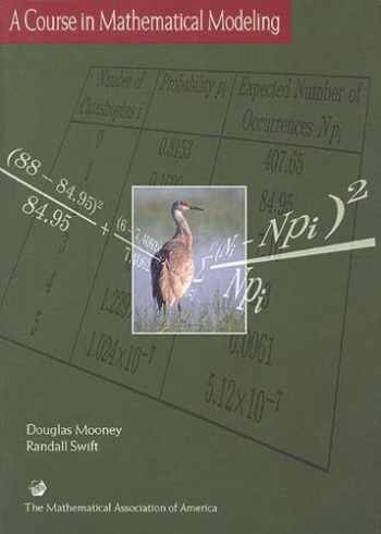 9780883857120-088385712X-A Course in Mathematical Modeling (Mathematical Association of America Textbooks)