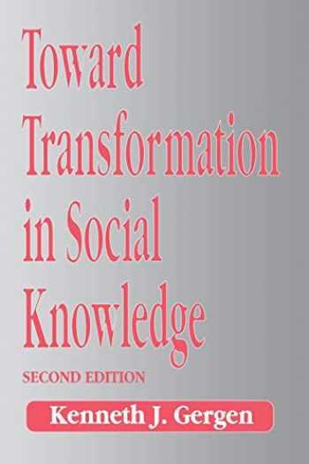 9780803989726-0803989725-Toward Transformation in Social Knowledge