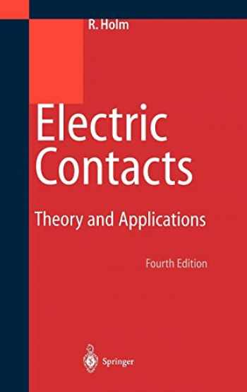 9783540038757-3540038752-Electric Contacts: Theory and Application