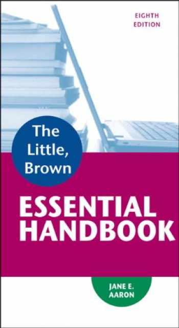 9780321920324-0321920325-Little, Brown Essential Handbook (8th Edition)
