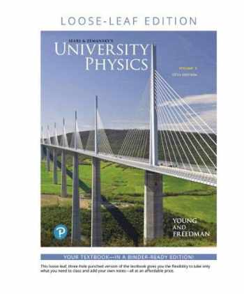 9780135216736-0135216737-University Physics with Modern Physics Volume 3 (Chapters 37-44), Loose Leaf Edition