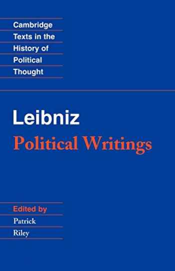 9780521358996-052135899X-Leibniz: Political Writings (Cambridge Texts in the History of Political Thought)