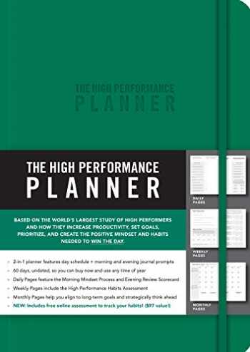 9781401957353-1401957358-The High Performance Planner [Green]