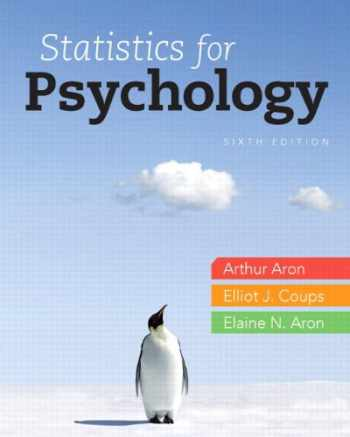 9780205924172-0205924174-Statistics for Psychology Plus NEW MyLab Statistics with eText -- Access Card Package (6th Edition)