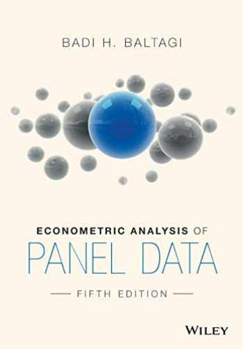 9781118672327-1118672321-Econometric Analysis of Panel Data